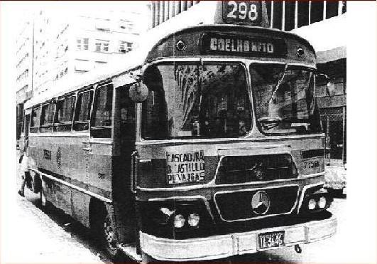 Ônibus da linha 298 - Castelo x Coelho Neto. Data e autoria desconhecidas. Enviada por Anderson Vieira Sant Ana.